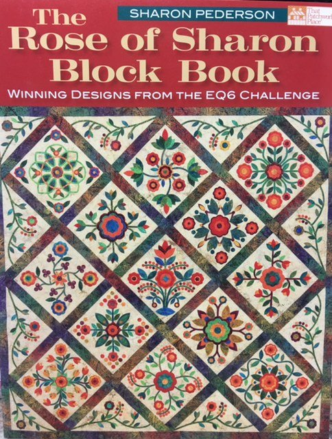B1051 Martingale The Rose of Sharon Block Book