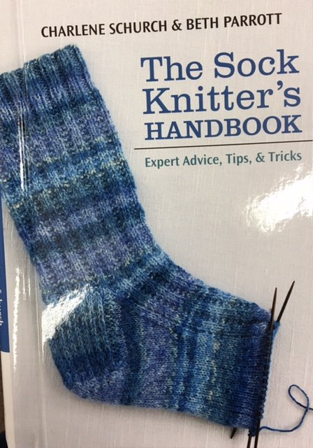 B1087 Martingale The Sock Knitter's Handbook by Charlene Schurch & Beth Parrott