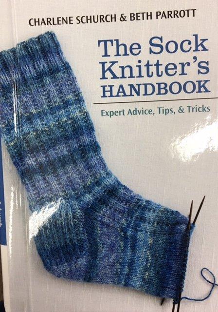B1087, Martingale The Sock Knitter's Handbook by Charlene Schurch & Beth Parrott