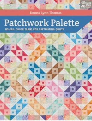 B1132 Martingale Patchwork Palette