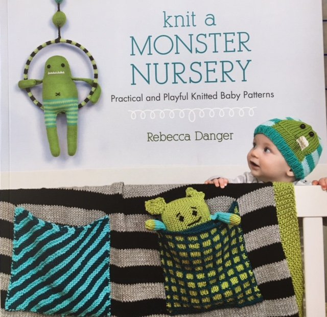 B1137 Martingale Knit a Monster Nursery by Rebecca Danger