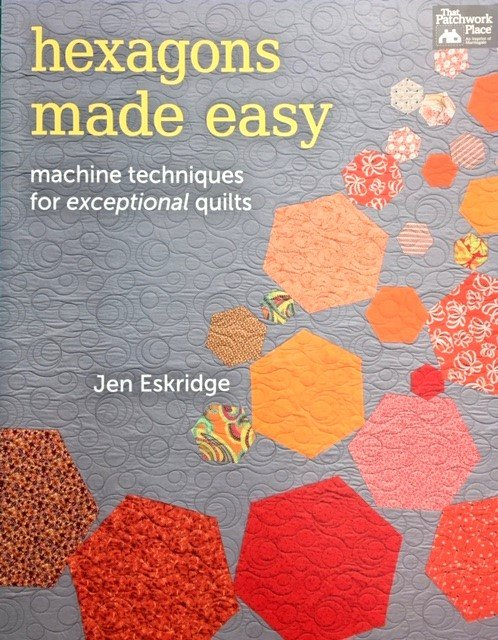 B1189 Martingale Hexagons Made Easy by Jen Eskridge