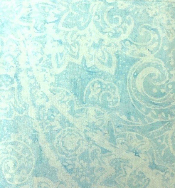 B4382-ESCAPE Timeless Treasures Buttercream Tonga Collection Batik Escape