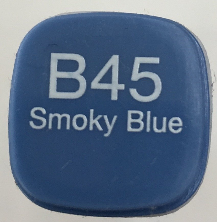 B45 COPIC Fabric Marker Smokey Blue