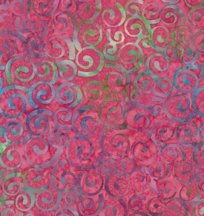 B6466-Petunia Timeless Treasures Tonga Batik