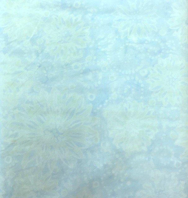 B6630-SKY Timeless Treasures Buttercream Tonga Collection Batik Sky