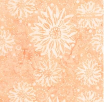 B6930-ANGEL Timeless Treasures Buttercream Tonga Collection Batik Angel