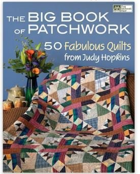 B979 Patchwork Place The Big Book of Patchwork by Judy Hopkins