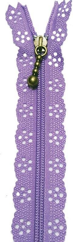 BCS1140ZLAV Little Lacie Zipper, Lavender, 8 inch