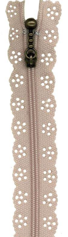 BCS1140ZT Little Lacie Zipper, Taupe, 8 inch
