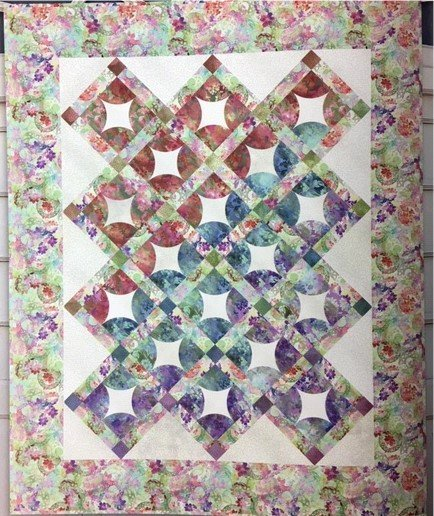 ENCKIT  Beautiful Dreams In the Beginning Fabrics  62 x 76