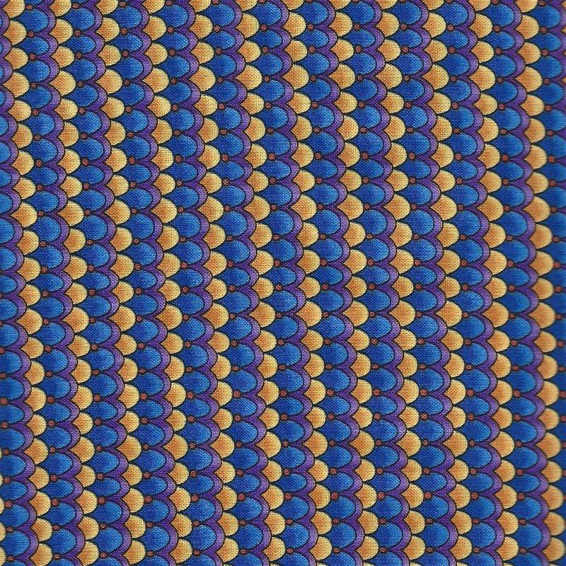 BTR5616-BLUE Deco Rose Blue Clam Shells