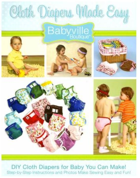 BV35076 Babyville Boutique Cloth Diapers made easy