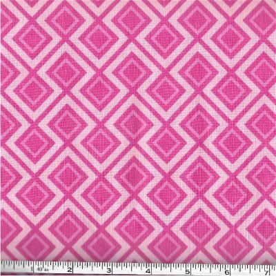 C5474-PINK Fantine Main Riley Blake Pink Triangles