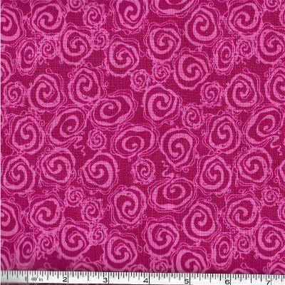 C5475-PINK  Fantine Main Riley Blake Pink Swirls