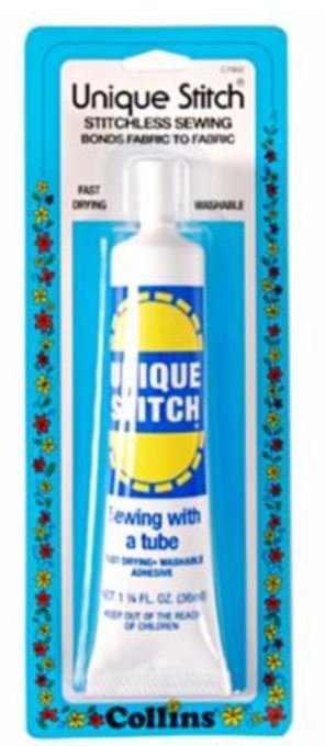 C7902 Collins  Unique Stitch Adhesive Tube 1-1/4 oz