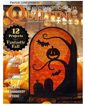 CBIQMAG214, Patrick Loose, Celebration in Quilting Magazine