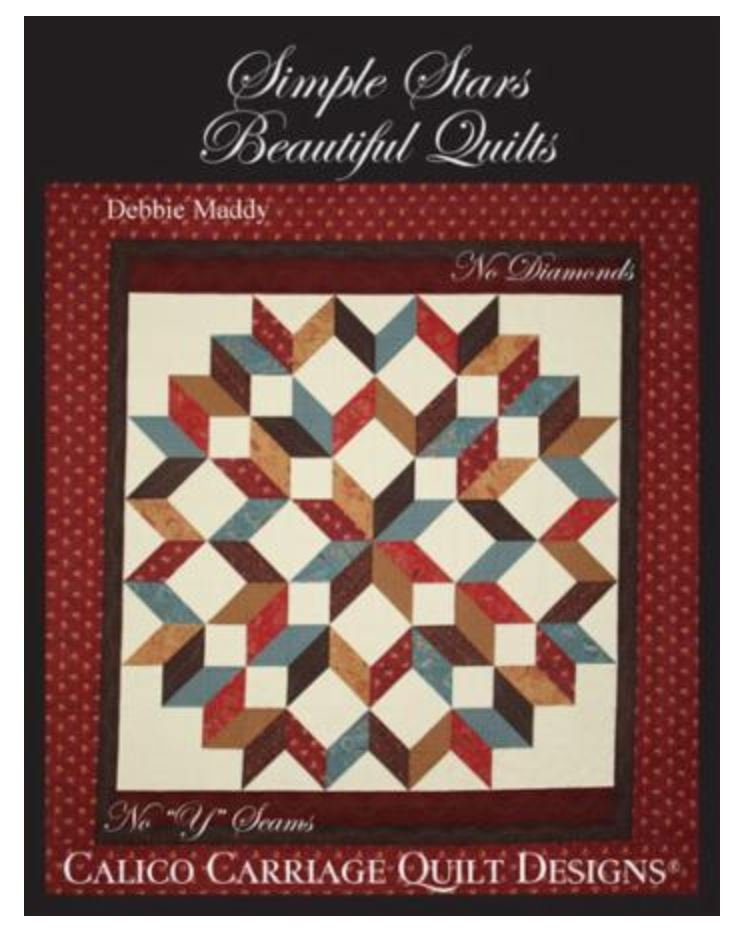 CCQD119 Calico Carriage Simple Stars Beautiful Quilts - 119 : debbie maddy quilt patterns - Adamdwight.com