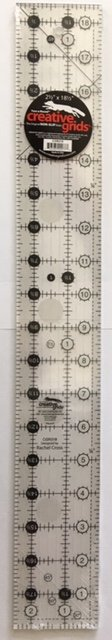 CGR218 Creative Grid Ruler 2-1/2 by 18 Made in the USA