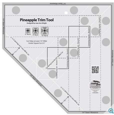 CGRJAW3 Creative Grid Non-Slip Non-Slip Pineapple Trim Tool