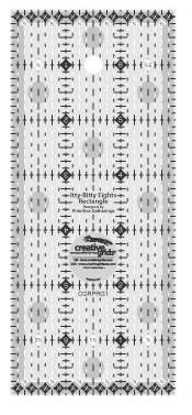 CGRPRG1 Creative Grid Itty Bitty Eights Ruler Made in the USA