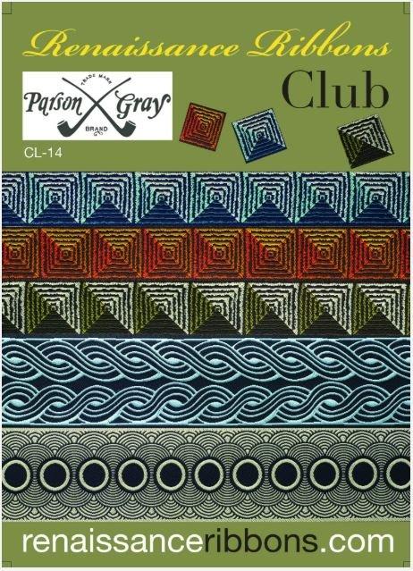 CL-14, Renaissance Ribbons, Parsons Grey