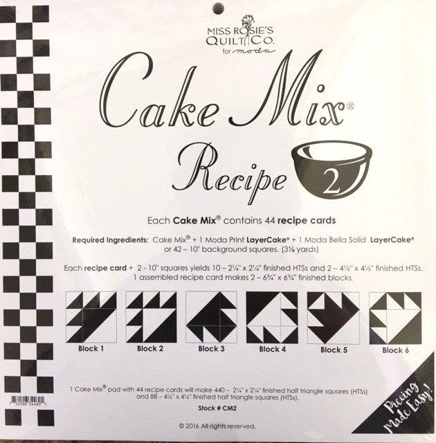 CM2  Miss Rosie's Quilt Co Cake Mix Recipe 2