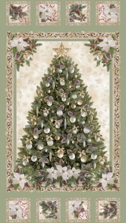 CM6958KIT Timeless Treasures A Very Merry Christmas, All is Calm by Lacey Hill