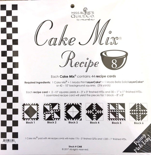 CM8  Miss Rosie's Quilt Co Cake Mix Recipe 8