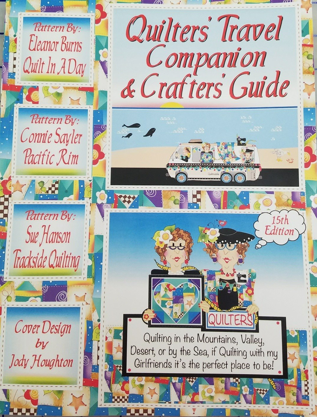 CP52195 Chalet Publishing Quilters' Travel Companion and Crafters Guide