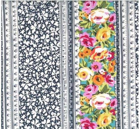 DC7972-GARD Michael Miller Kashmir Gardens Garden Lacery