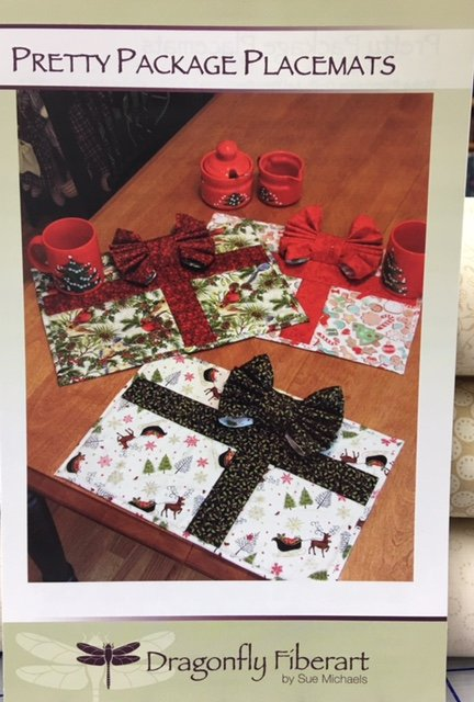 DFHD-20 Dragonfly Fiberart Pattern Cards Pretty Package Placemats