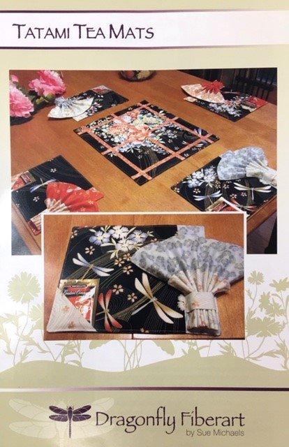DFHD-24 Dragonfly Fiberart Pattern Cards Tatami Tea Mats