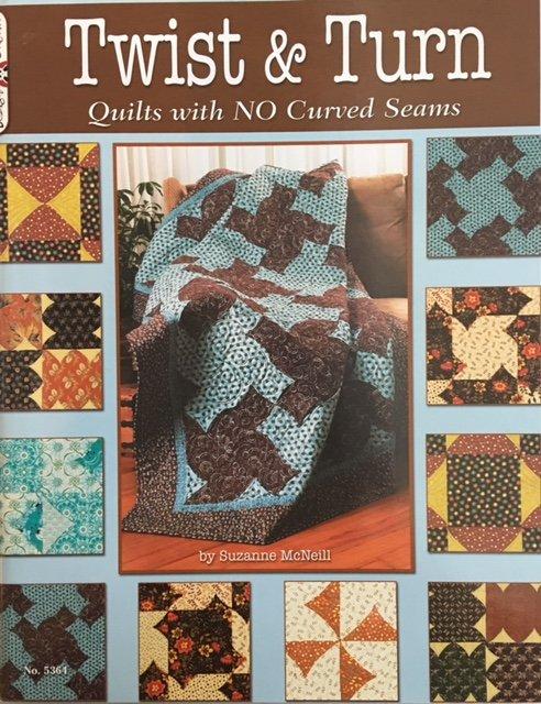 DO5364 Design Originals Twist & Turn by Suzanne McNeill