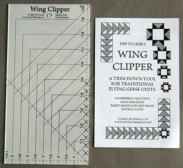 DT07 Wing Clipper Studio 180 Design Fling Geese Ruler