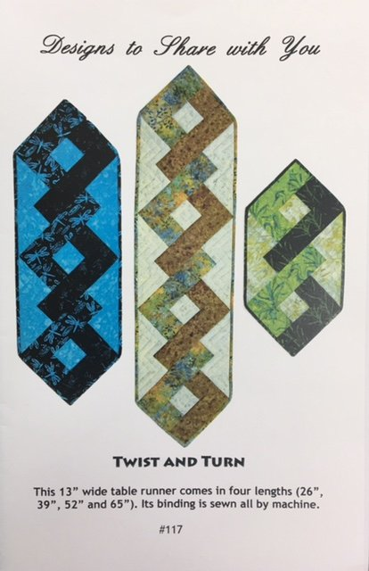 DTS117 Designs to Share With You Twist and Turn Pattern