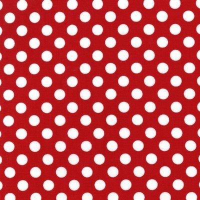 EZC-12872-3 Robert Kaufman Spot On Red / White Dot