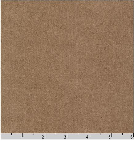 F019-1017 Robert Kaufman Kona Solids Flannel Bison Brown