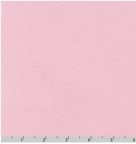 F019-189 Robert Kaufman Kona Solids Flannel Baby Pink