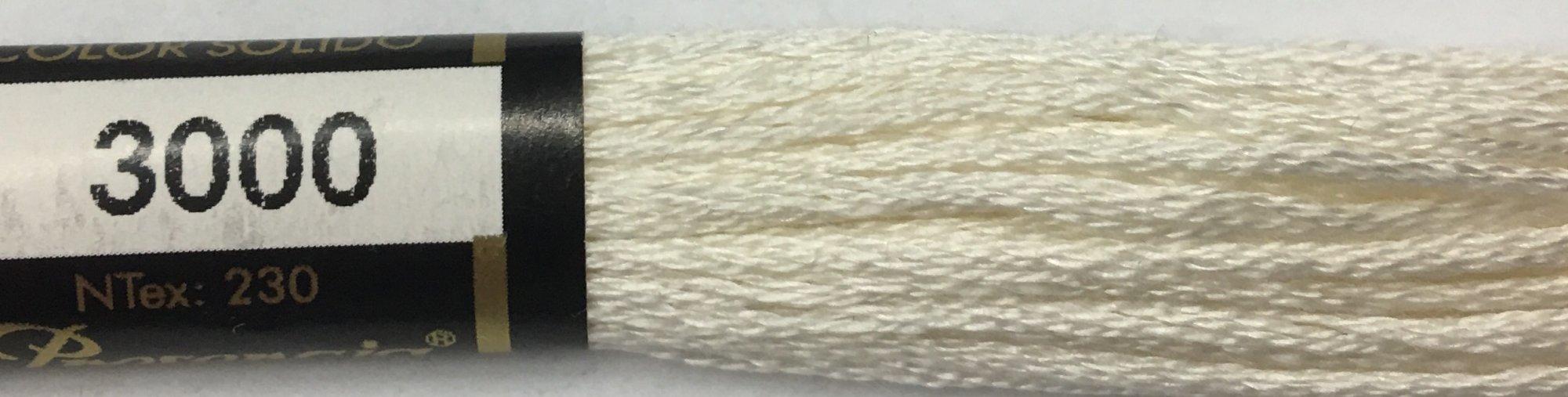 F3000 Presencia 100% Mercerized Finca Cotton 6 ply Embroidery Floss 8 meter skein