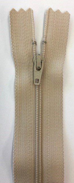 F5030-BG, YKK, Non-Seperating Zipper, 30 inch Beige