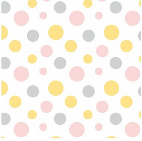 F6897-2 Henry Glass Fluffy Bunny Flannel Dots