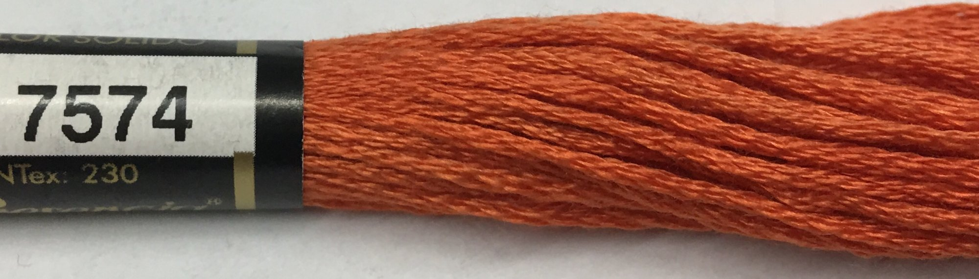 F7574 Presencia 100% Mercerized Finca Cotton 6 ply Embroidery Floss 8 meter skein