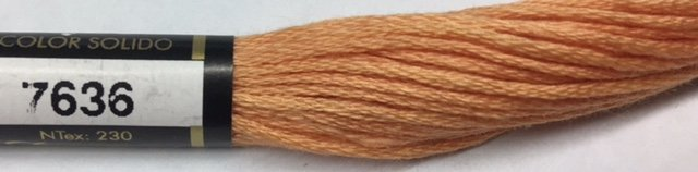 F7636 Presencia 100% Mercerized Finca Cotton 6 ply Embroidery Floss 8 meter skein