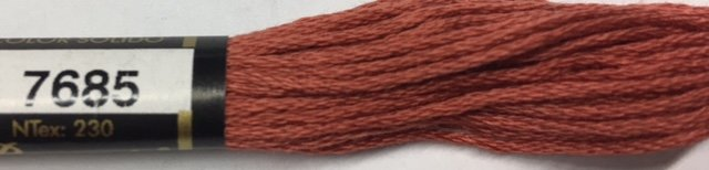 F7685 Presencia 100% Mercerized Finca Cotton 6 ply Embroidery Floss 8 meter skein