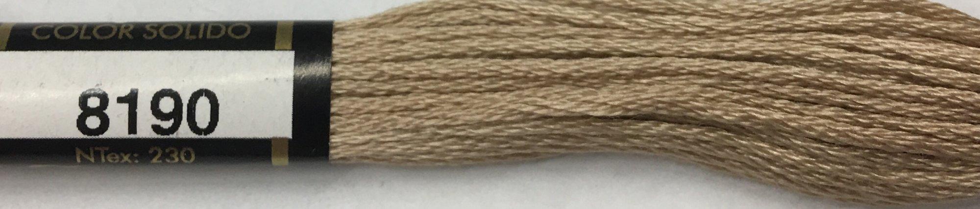 F8190 Presencia 100% Mercerized Finca Cotton 6 ply Embroidery Floss 8 meter skein