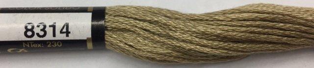 F8314 Presencia 100% Mercerized Finca Cotton 6 ply Embroidery Floss 8 meter skein