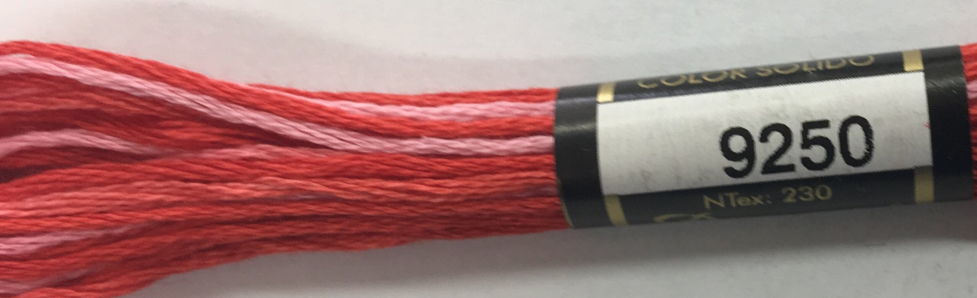 F9250 Presencia 100% Mercerized Finca Varigated Cotton 6 ply Embroidery Floss 8 meter skein