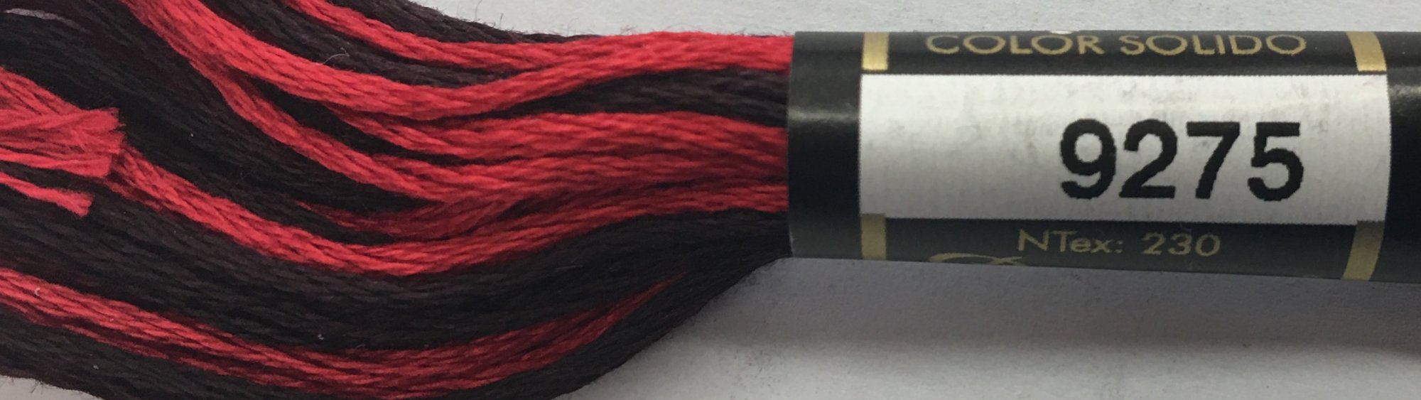 F9275 Presencia 100% Mercerized Finca Varigated Cotton 6 ply Embroidery Floss 8 meter skein