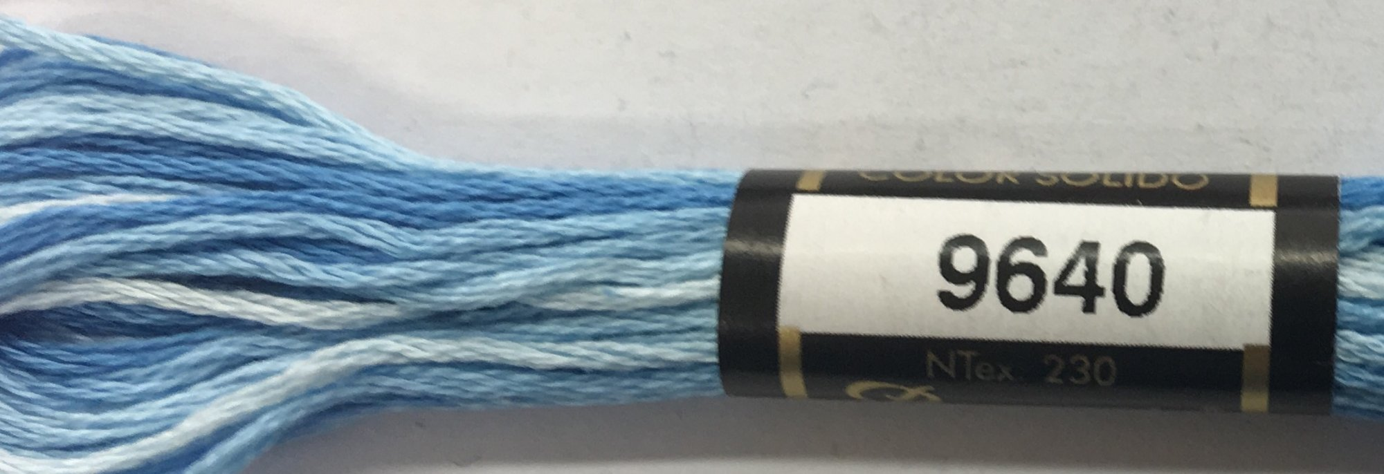 F9640 Presencia 100% Mercerized Finca Varigated Cotton 6 ply Embroidery Floss 8 meter skein